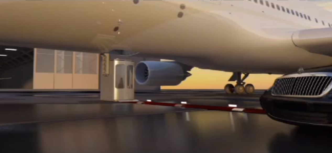 Video vvip boeing 747 8 elevator gets patent runway for Boeing 747 8 interieur