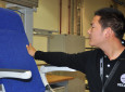 Recaro's 3520 seat (pictured being manufacturing in Recaro's new China facility)