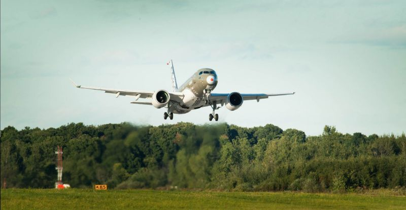 Bombardier Stays Flexible With Cseries Cabin Begins