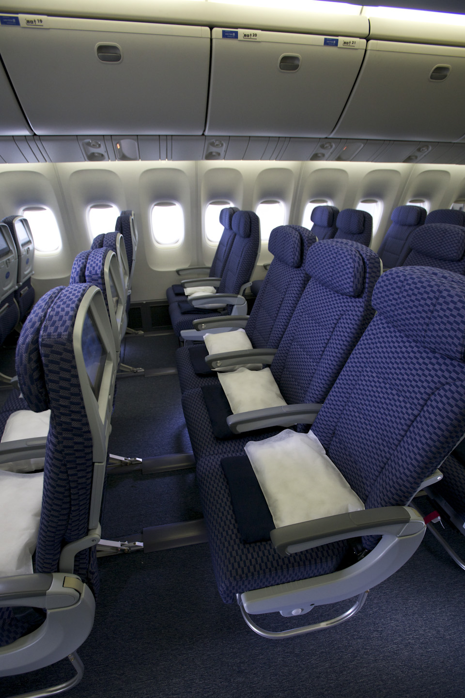 the 19 different kinds of aircraft seating in 2014