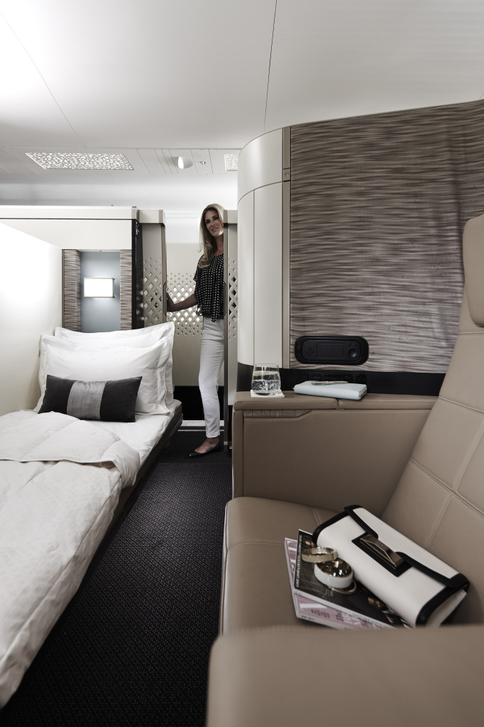 Seat + Bed - Etihad