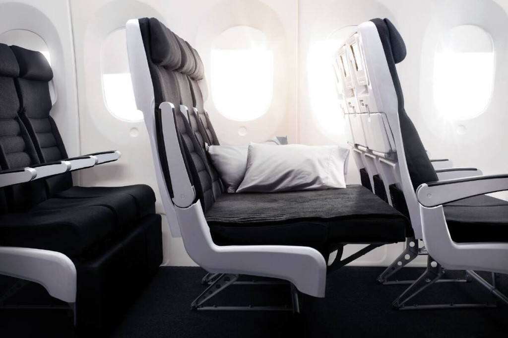 Air New Zealand 777-300ER economy skycouch