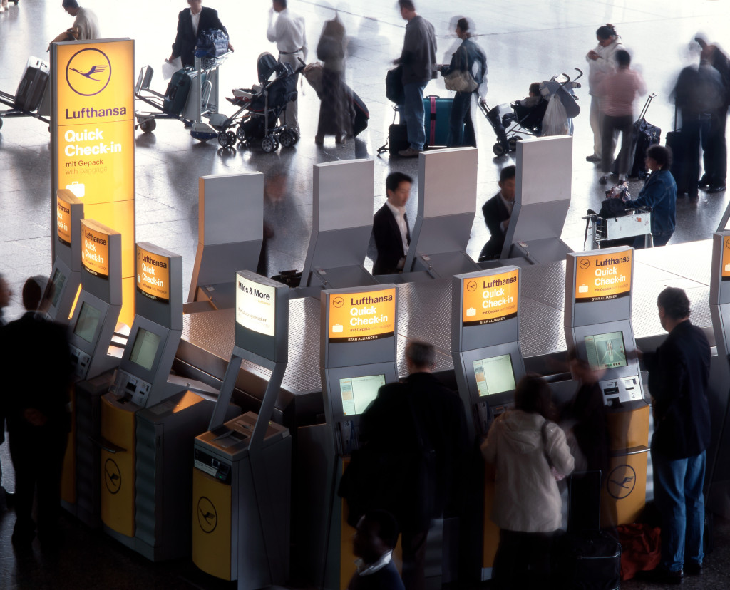 2004: Lufthansa Quick Check-in // 2004: Lufthansa Quick Check-in