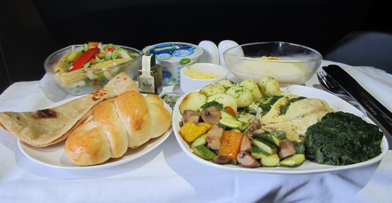 airastana lunch large portions