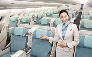Korean Air A380 Prestige Sleeper business class --KE
